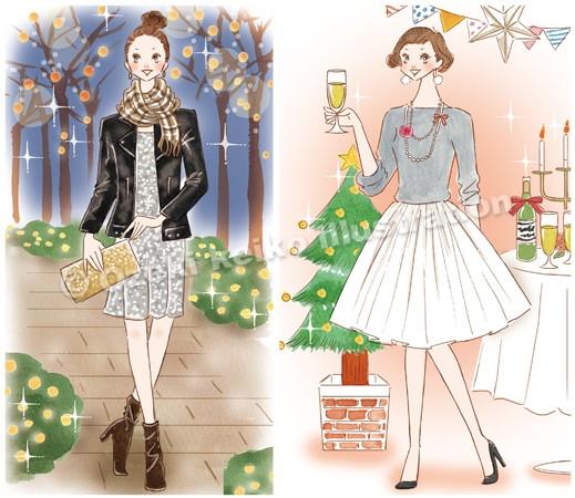 パーティーファッション女性