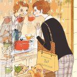 ウィンドウショッピングの女性