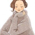 セーターを着た女性イラスト